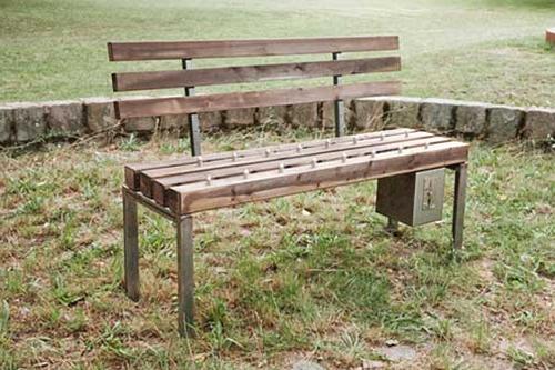 num banco de jardim uma velhinha:CONCESSÃO DOS BANCOS DE JARDIM – DÁDIVAS