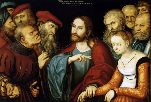 800px-Lucas_Cranach_d._Ä._-_Christ_and_the_Adulte