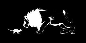 gato-estimulante-um-leão-desenho_csp40515705.jpg