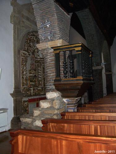 Castelo Bragança: Igreja de Santa Maria - Pódio