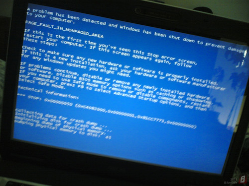 Blue Screen ao abrir vídeo que gravei... Windows