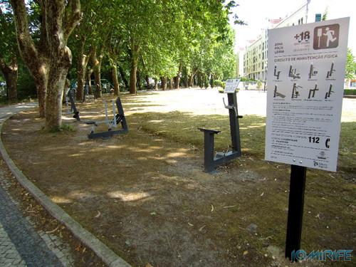 Jardim do Polis Leiria (Centro) - Circuito de Manutenção Física (1) [en] Polis Garden of Leiria, Portugal