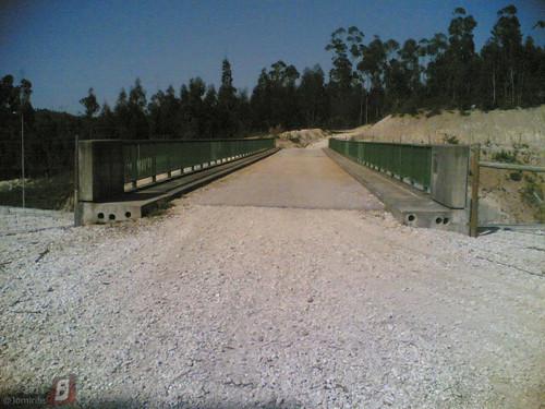 Viaduto sobre A14 em Feteira de Cima/Lares