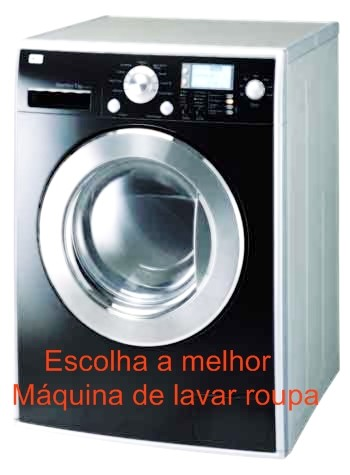 Melhor máquina de lavar roupa