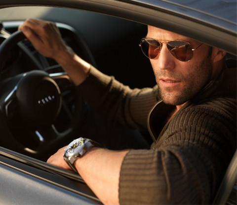 Jason statham no elenco de velocidade furiosa 7 valar morghulis for Celebrity wearing panerai