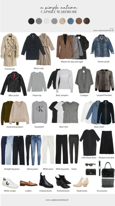 My Fashion Insider: Outfits | My favorite Capsule Wardrobe
