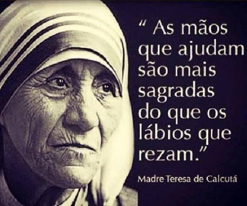 Frases De Madre Teresa De Calcuta No Facebook As Mãos Que Ajudam