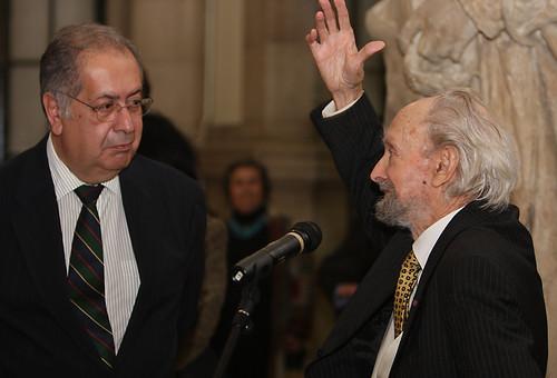 Jaime Gama e Nadir Afonso