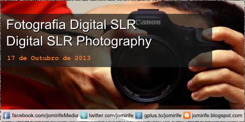 Blog Post: Fotografia Digital SLR / Digital SRL Photography - Princípios básicos para fotografia DSLR (Abertura, Velocidade do obturador, ISO)