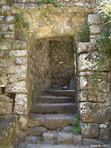 Sintra: Castelo dos Mouros - Escadas
