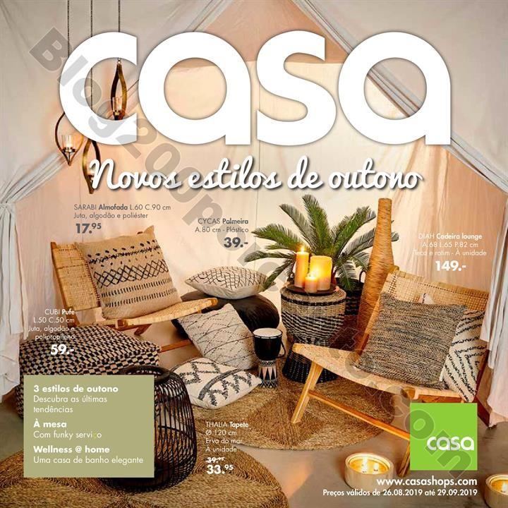 Antevisão Folheto CASA Promoções de 26 agosto a