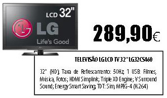 LG LCD TV 32