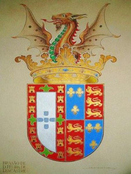 Brasão de D. Filipa d Lancastre.jpg
