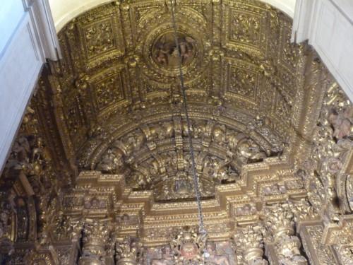 Sé Nova, capela de S. Tomás de Vila Nova tecto.J