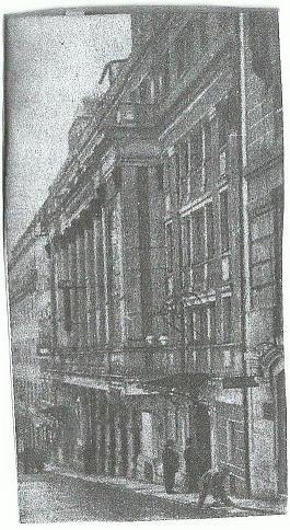 O antigo Cine-Teatro Ginásio