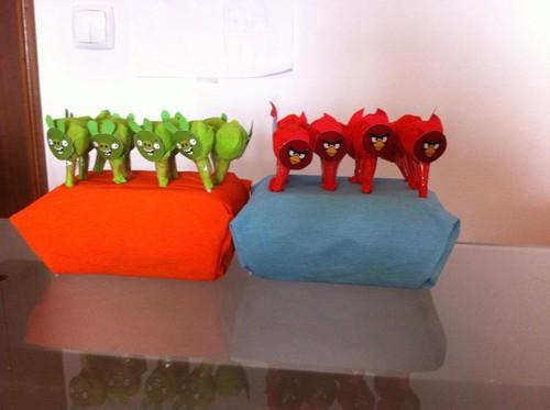 Festa Angry Birds - chupas