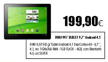 DINO 997 Tablet
