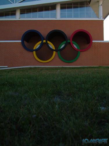 Anéis olímpicos - Pavilhão Municipal de Montemor-o-Velho (3) [en] Olympic Rings - Municipal gym of Montemor-o-Velho
