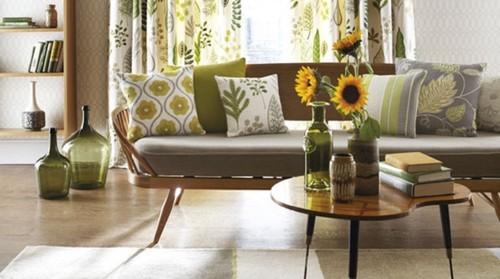 Dicas para decorar a sua casa com tecidos decora o e ideias for Decoracion del hogar leticia