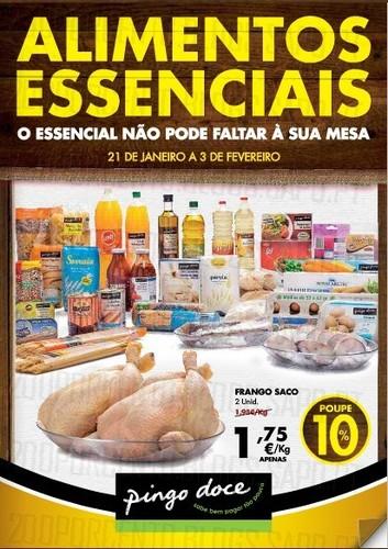 Antevisão novo Folheto | PINGO DOCE | Alimentos Essenciais, de 21 a 3 fevereiro