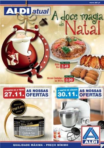 Antevisão Folheto | ALDI | a partir de 27 novembro