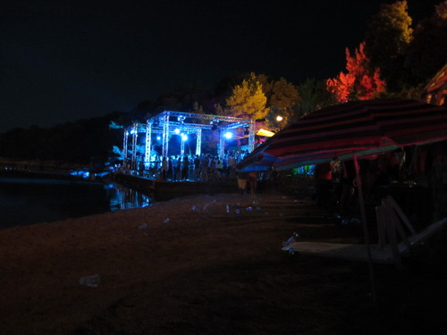 Festival beach bar