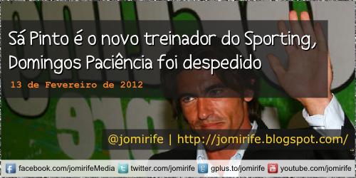 Blog: Ricardo Sá Pinto novo treinador do Sporting