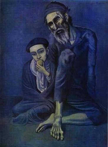 Pablo Picasso.O Mendigo a a Criança.jpg