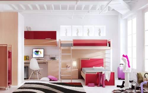 Kinderbett Mit Gästebett Ikea ~ Cores e estilos de quartos para adolescentes  Decoração e Ideias