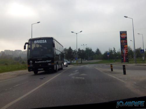 Autocarro da Académica de Coimbra Briosa