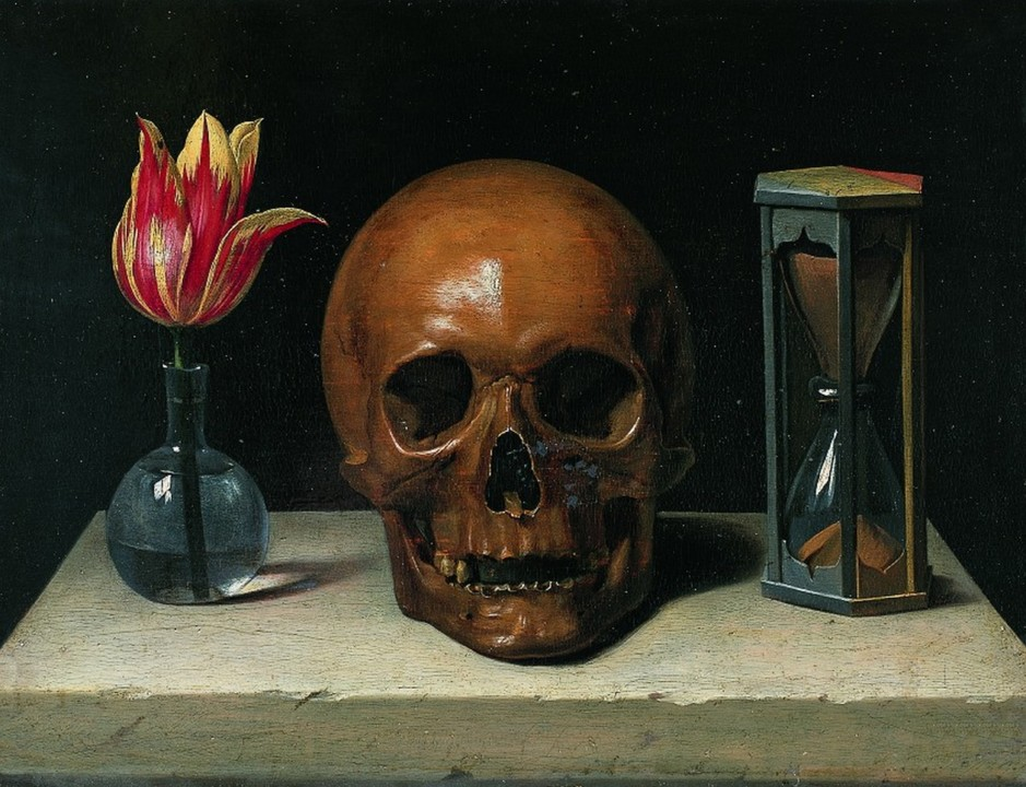 Philippe de Champaigne - Still Life With A Skull (