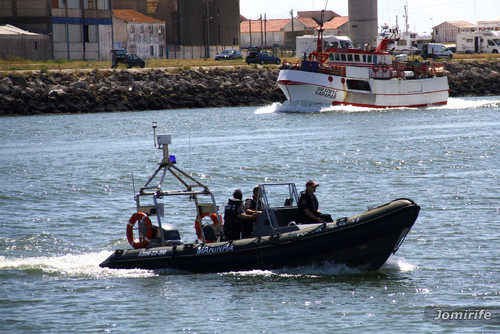 Barco de patrulha da Marinha da Figueira da Foz