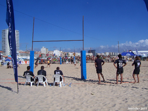 Rugby de praia na Figueira da Foz
