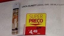 Acumulação Super-Preço + 25% | CONTINENTE | Elnnett