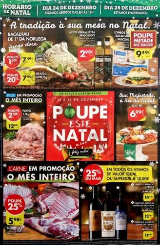 folheto pingo doce semana natal 18 a 26 dezembro
