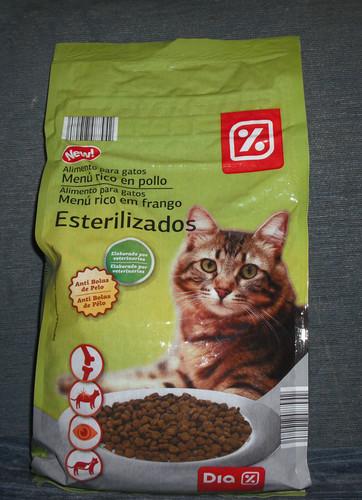 Barato e bom riscas o gatinho amarelo - Alimento para gatos esterilizados ...