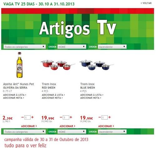 Promoções | JUMBO | TV, Artigos TV, 30 e 31 outubro