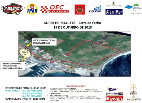 Mapa da SE FTE Serra do Facho...