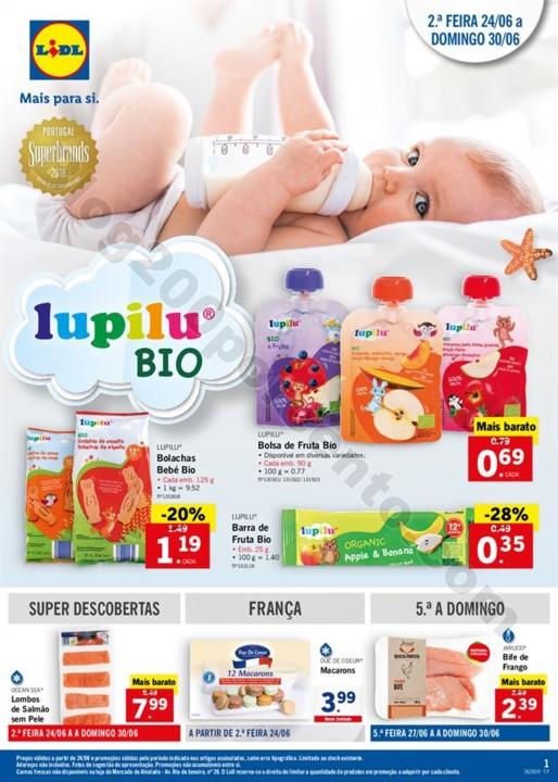 LIDL Promoções e Feira do Bebé de 24 a 30 junho