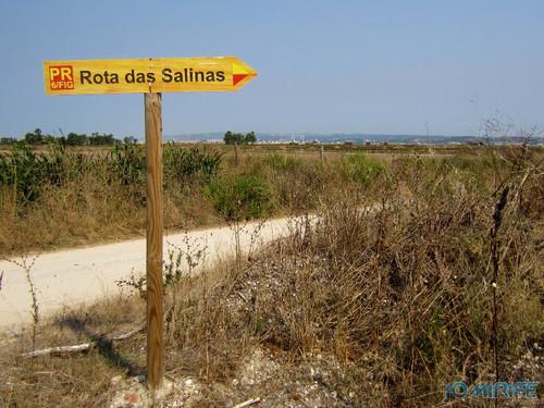 Salinas da Figueira da Foz (3) Placa da Rota das Salinas [en] Salt fields of Figueira da Foz in Portugal