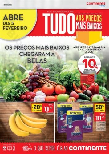 Antevisão Folheto CONTINENTE abertura Belas 5 a 1