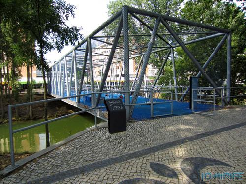 Jardim do Polis Leiria (Oeste) - Ponte Parque infantil (1) [en] Polis Garden of Leiria, Portugal
