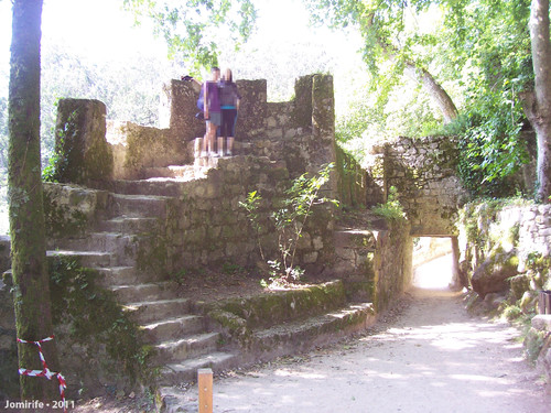 Sintra: Pena/Mouros - Torre de vigia