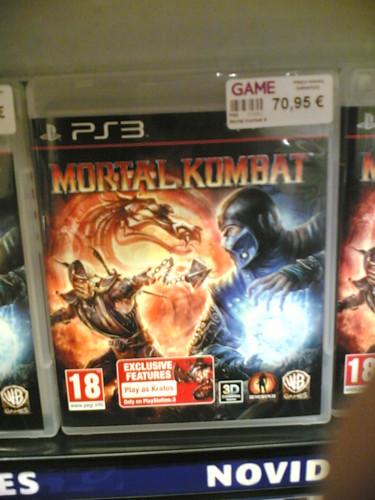 "Novo jogo ""Mortal Kombat"" custa 71€ !?!?"