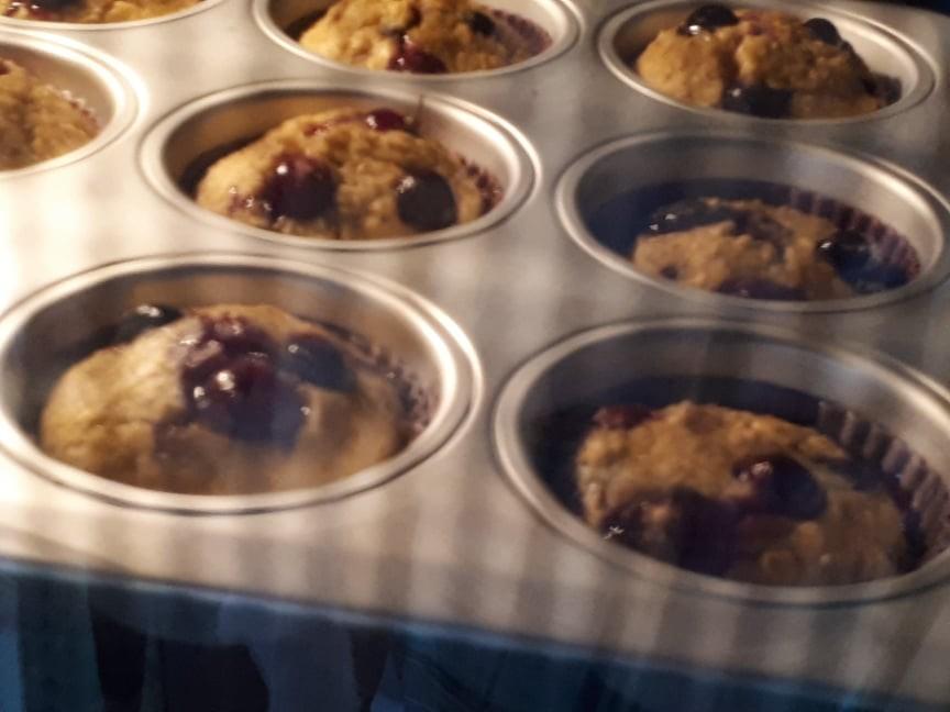 Muffins de Mirtilos 4  Da Ericeira Com Amor.jpg