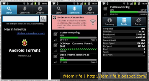 Blog: aTorrent, download de torrents no Android