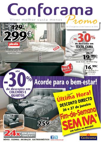 Folheto cat logo conforama novidades campanhas - Catalogo armarios conforama ...