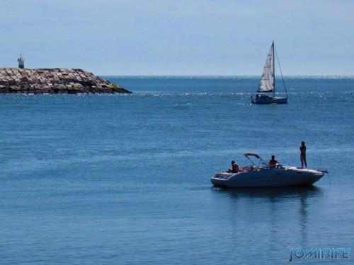 Barcos de recreio no Cabedelinho - Figueira da Foz
