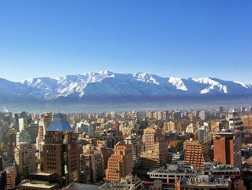 Santiago, Chile (Fonte: Wikimedia)