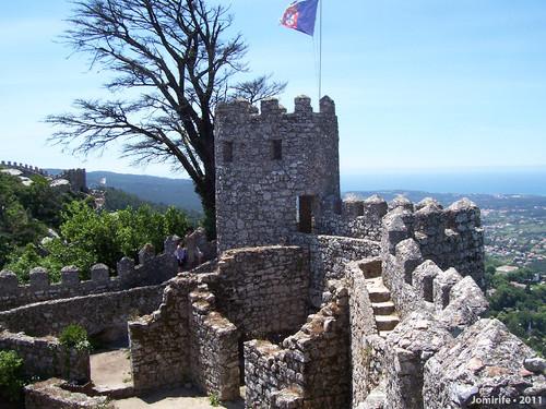 Sintra: Castelo dos Mouros - Torre